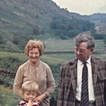 Henry and Muriel, with Ian, Lake District