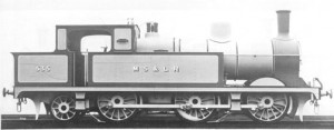 One of their trains