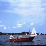 Frank, Aylsa, Norfolk broads, c1965