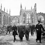 Churchill at Coventry Cathedral