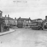 Bell Green Junction with Old Church Road.