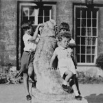 David, Frank, Ian, pos lake District, c1947