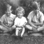 Frank, Ian, David, c 1947