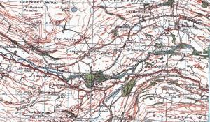 Aysgarth, 1924/5 Ordnance Survey