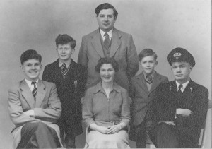 Family photograph, Coventry c1955