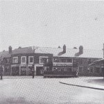 'Top of Bell Green Road, tram terminus, 1939